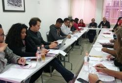 Reunião da direção plena da Fetquim discute atual momento político e economico