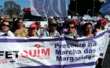 Marcha das Margaridas: presença da federação e sindicatos filiados