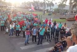 Trabalhadores paralisam atividade após morte na Mexichem Brasil