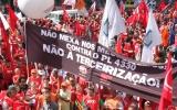 Ato em Brasília reúne movimentos sociais para impedir a votação do PL 4330